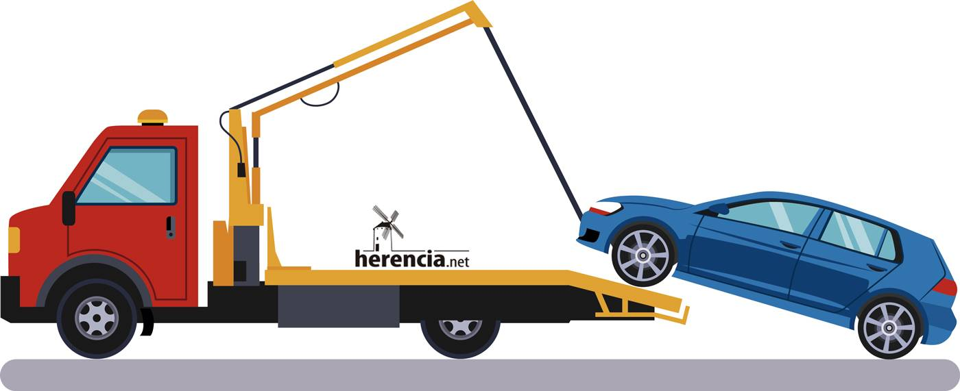 Servicio de Grúa en Herencia (ciudad real) para coches y accidentes