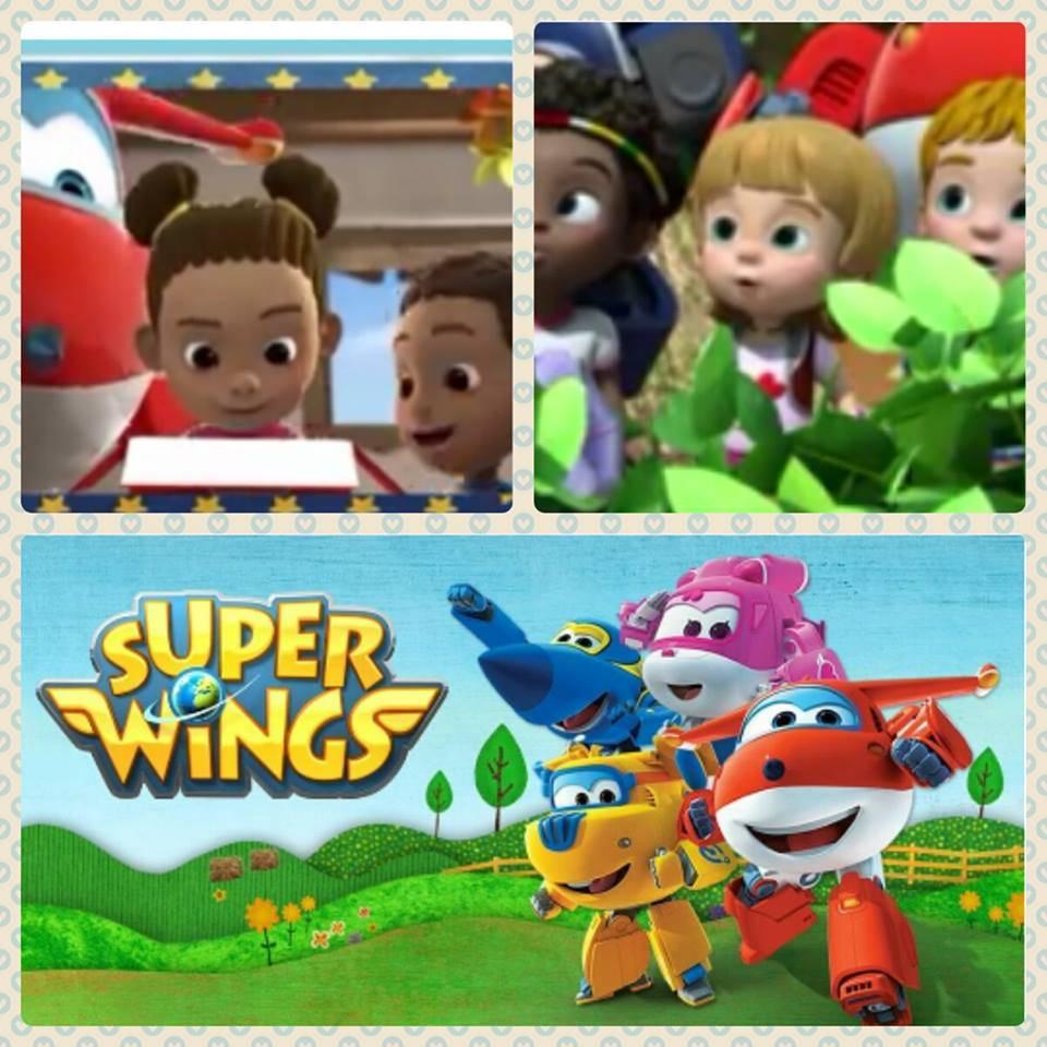 super wings - Yolanda Portillo pone voz a una serie de Clan TV