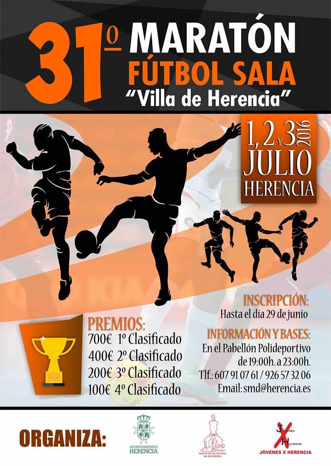 31 maratón de fútbol sala herencia