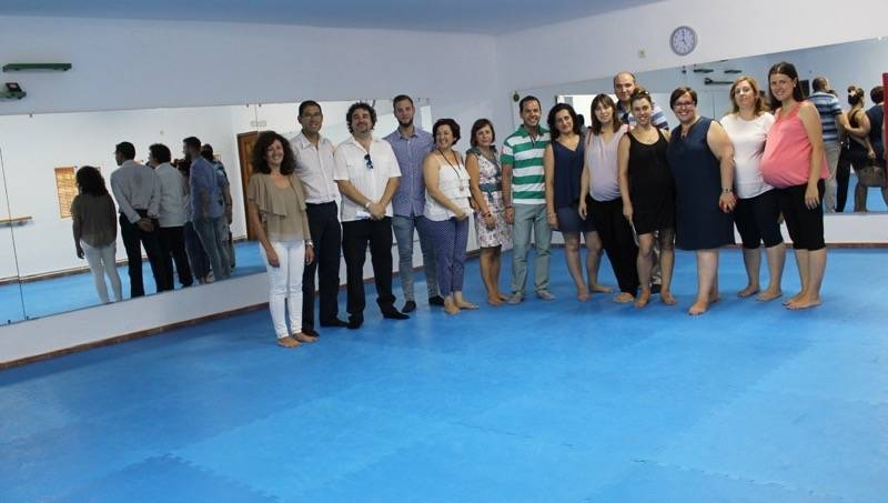 Visita a las instalaciones cedidas en el convenio de colaboración entre la JCCM, SESCAM y Ayuntamiento de Herencia