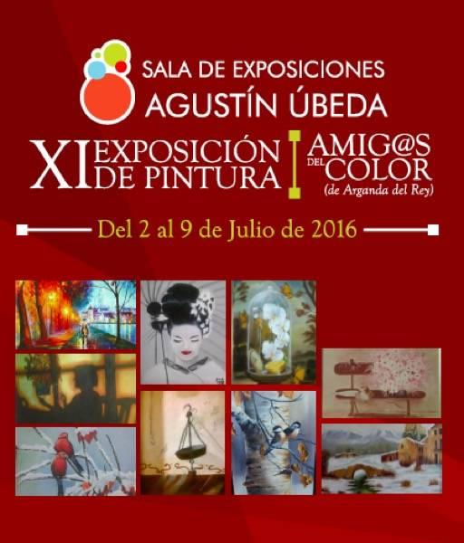 Exposición Amig@s del Color en Herencia - Inaugurada la exposición Amig@s del Color