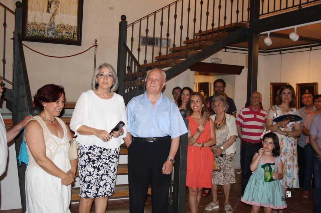 Exposicion de oleos de Inmaculada Garcia Vallejo y Jesus Mata 1 1068x711 - Galería de fotos Exposición de Óleos de Inmaculada García Vallejo y Jesús Mata
