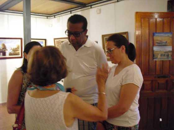 Exposicion de oleos de Inmaculada Garcia Vallejo y Jesus Mata 10 560x420 - Galería de fotos Exposición de Óleos de Inmaculada García Vallejo y Jesús Mata