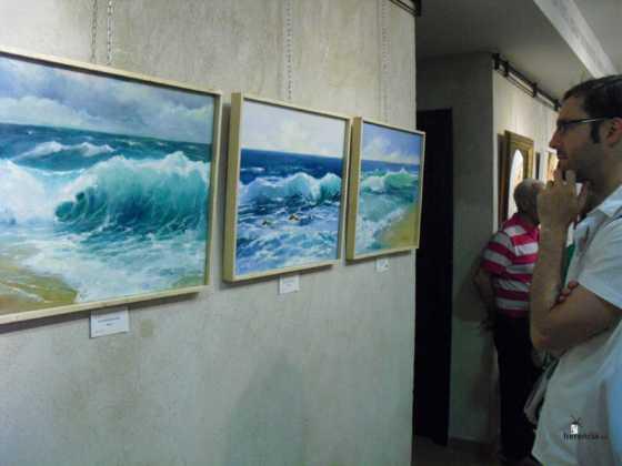 Exposicion de oleos de Inmaculada Garcia Vallejo y Jesus Mata 12 560x420 - Galería de fotos Exposición de Óleos de Inmaculada García Vallejo y Jesús Mata