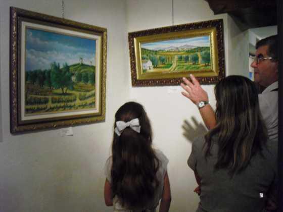 Exposicion de oleos de Inmaculada Garcia Vallejo y Jesus Mata 13 560x420 - Exposición de Óleos de Inmaculada García Vallejo y Jesús Mata