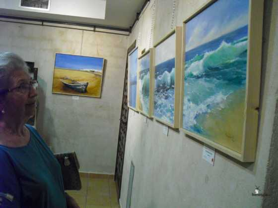 Exposicion de oleos de Inmaculada Garcia Vallejo y Jesus Mata 17 560x420 - Galería de fotos Exposición de Óleos de Inmaculada García Vallejo y Jesús Mata