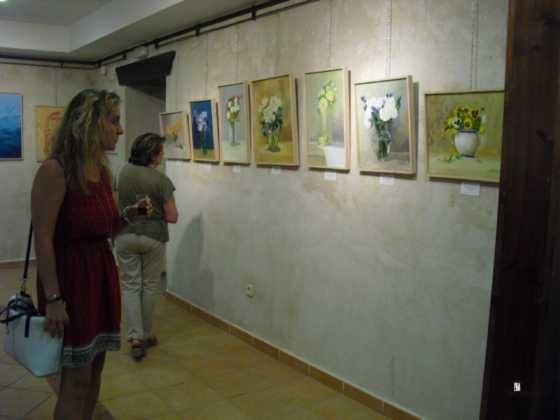 Exposicion de oleos de Inmaculada Garcia Vallejo y Jesus Mata 19 560x420 - Galería de fotos Exposición de Óleos de Inmaculada García Vallejo y Jesús Mata