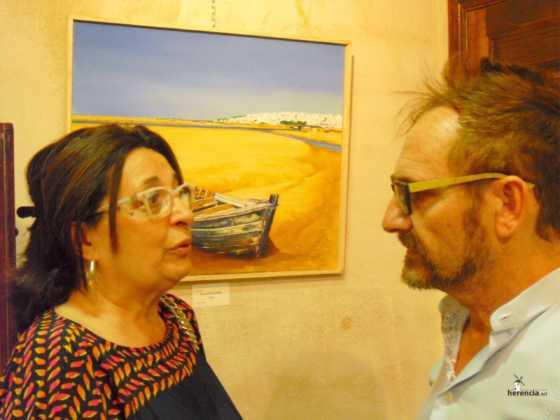Exposicion de oleos de Inmaculada Garcia Vallejo y Jesus Mata 22 560x420 - Exposición de Óleos de Inmaculada García Vallejo y Jesús Mata