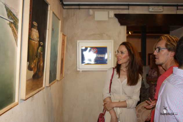 Exposicion de oleos de Inmaculada Garcia Vallejo y Jesus Mata 25 631x420 - Exposición de Óleos de Inmaculada García Vallejo y Jesús Mata
