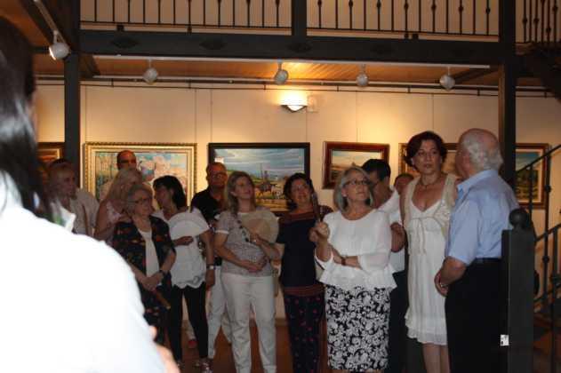 Exposicion de oleos de Inmaculada Garcia Vallejo y Jesus Mata 3 631x420 - Galería de fotos Exposición de Óleos de Inmaculada García Vallejo y Jesús Mata
