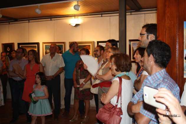 Exposicion de oleos de Inmaculada Garcia Vallejo y Jesus Mata 4 631x420 - Galería de fotos Exposición de Óleos de Inmaculada García Vallejo y Jesús Mata