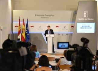 Nacho Hernando informa de los acuerdos del Consejo de Gobierno, 13 julio 2016