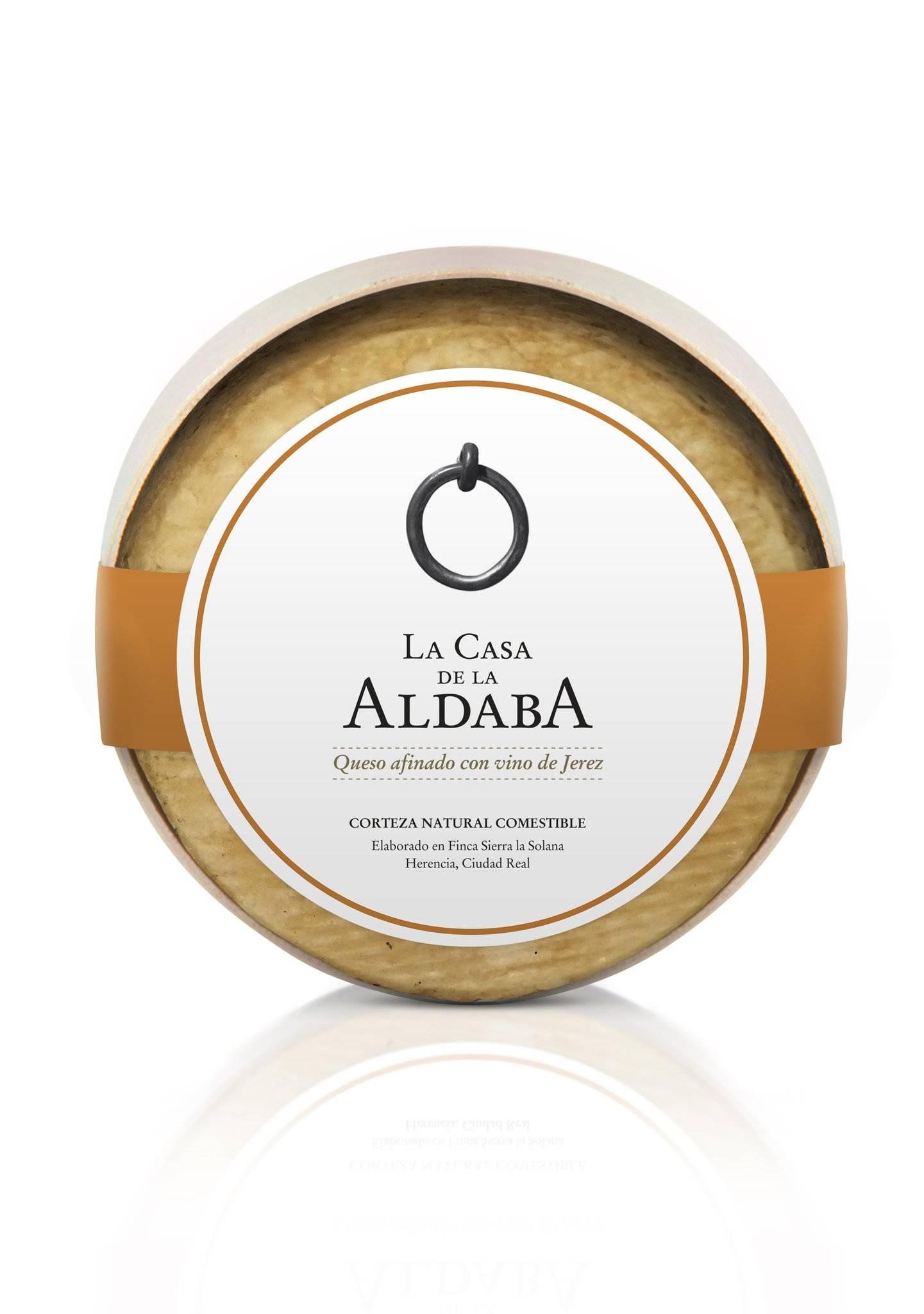 Queso afinado con vino de Jeréz - La casa de la Aldaba
