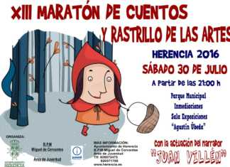 XIII maratón de cuentos y rastrillo de las artes 2016