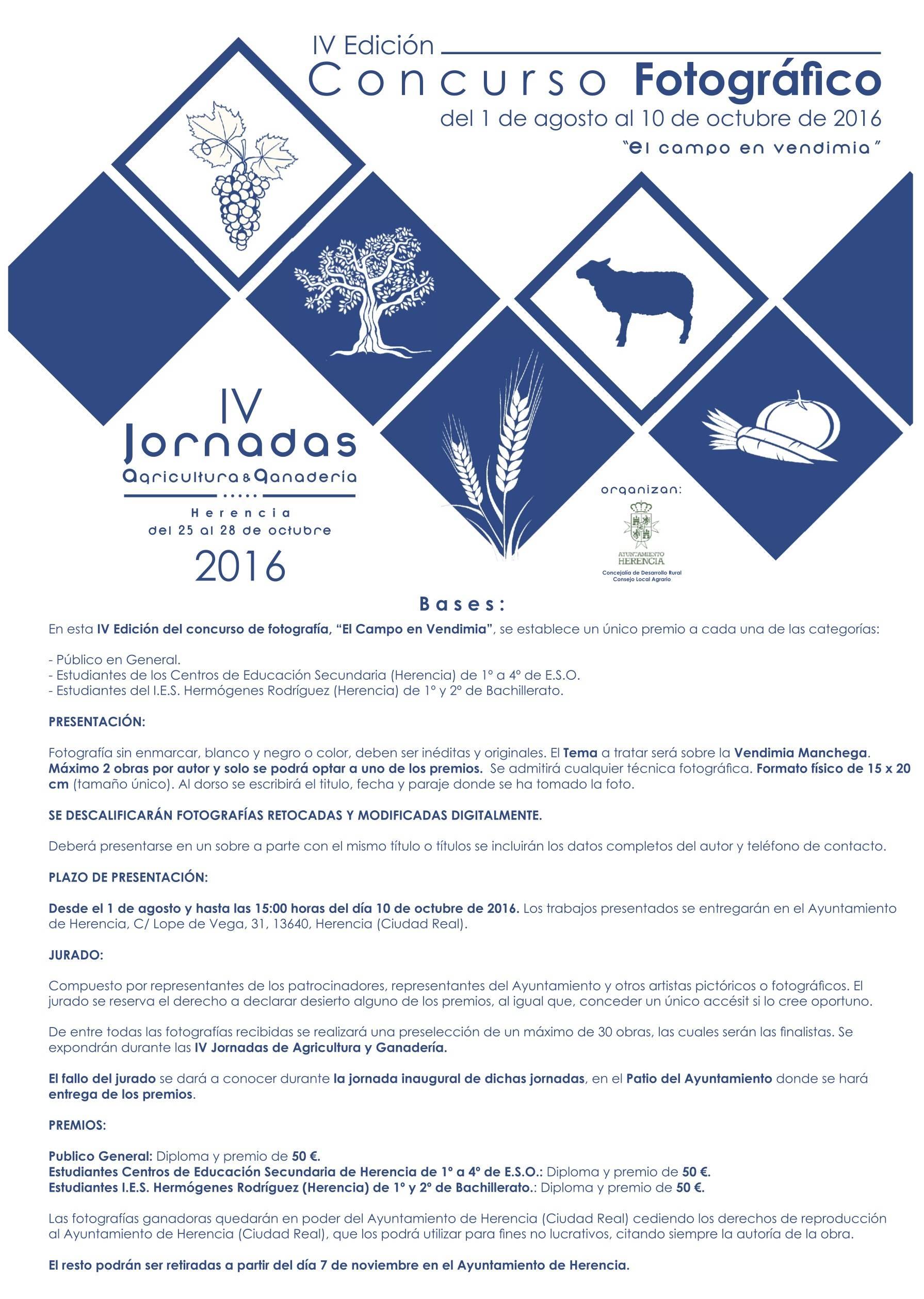 bases del concurso fotografico tiempo vendimia - Participa en el concurso de fotografía y dibujo del Consejo Local Agrario