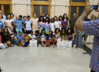 Bienvenida a los niños saharauis en sus Vacaciones en Paz.
