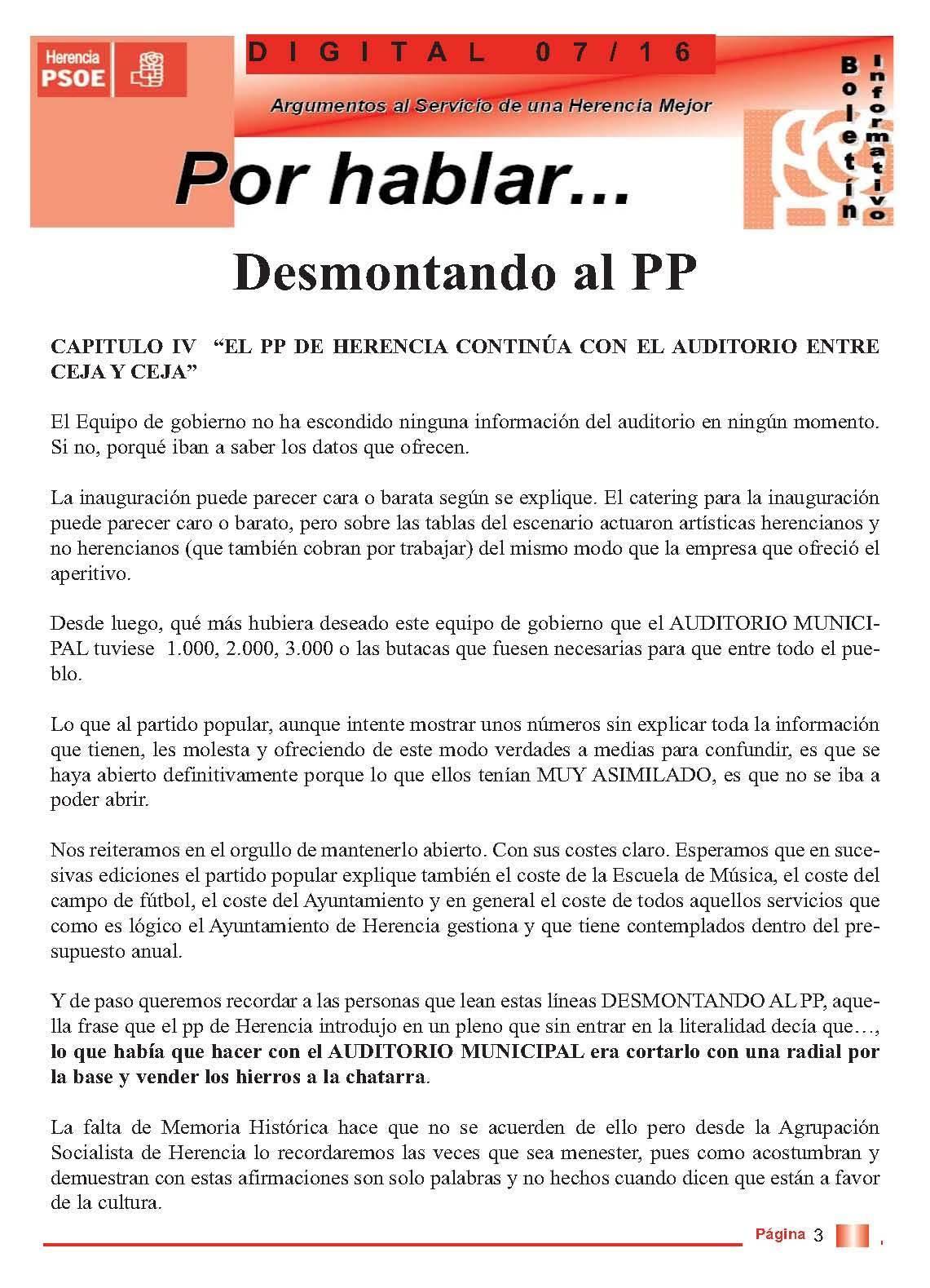 boletin informatico psoe herencia - desmontando al pp 3