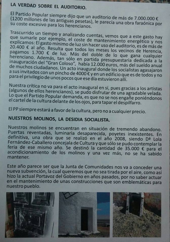 boletin partido popular herencia julio 2016 - pagina 2