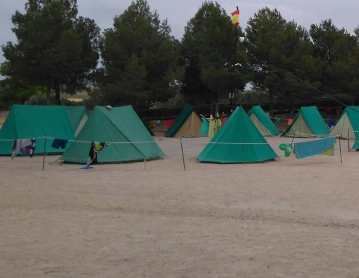 campamentos en campo de criptana ciudad real