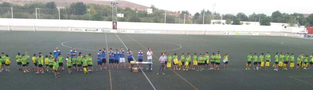 clausura de iii campus de futbol 1068x308 - Finalizado el III Campus de fútbol Herencia