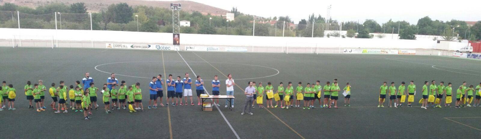 clausura de iii campus de futbol - Finalizado el III Campus de fútbol Herencia