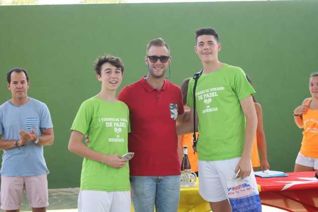 Fotografías del primer Torneo de Pádel de Verano en Herencia 23