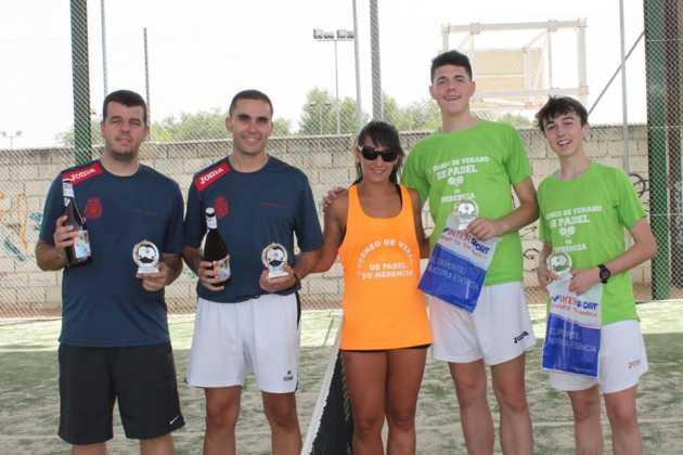 Fotografías del primer Torneo de Pádel de Verano en Herencia 29