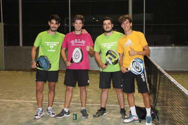 2016 torneo de padel de verano en herencia 2 630x420 - Fotografías del primer Torneo de Pádel de Verano en Herencia