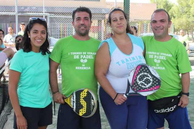 Fotografías del primer Torneo de Pádel de Verano en Herencia 21