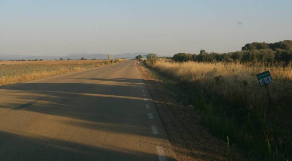 Carretera autonomica CM 4106 - Aumento de la seguridad en 1.800 kilómetros de carreteras en Ciudad Real