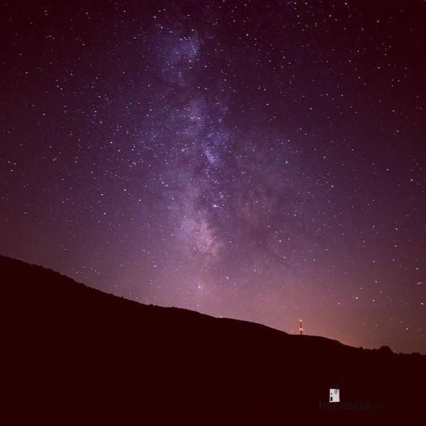 Cielo Estrellado de Herencia. Fotografía de David Carrero Fdez.-Baillo
