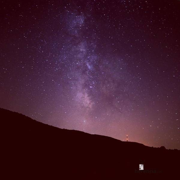 Cielo estrellado de Herencia Ciudad Real - Herencia será un buen lugar para ver la lluvia de estrellas de las Perseidas 2016