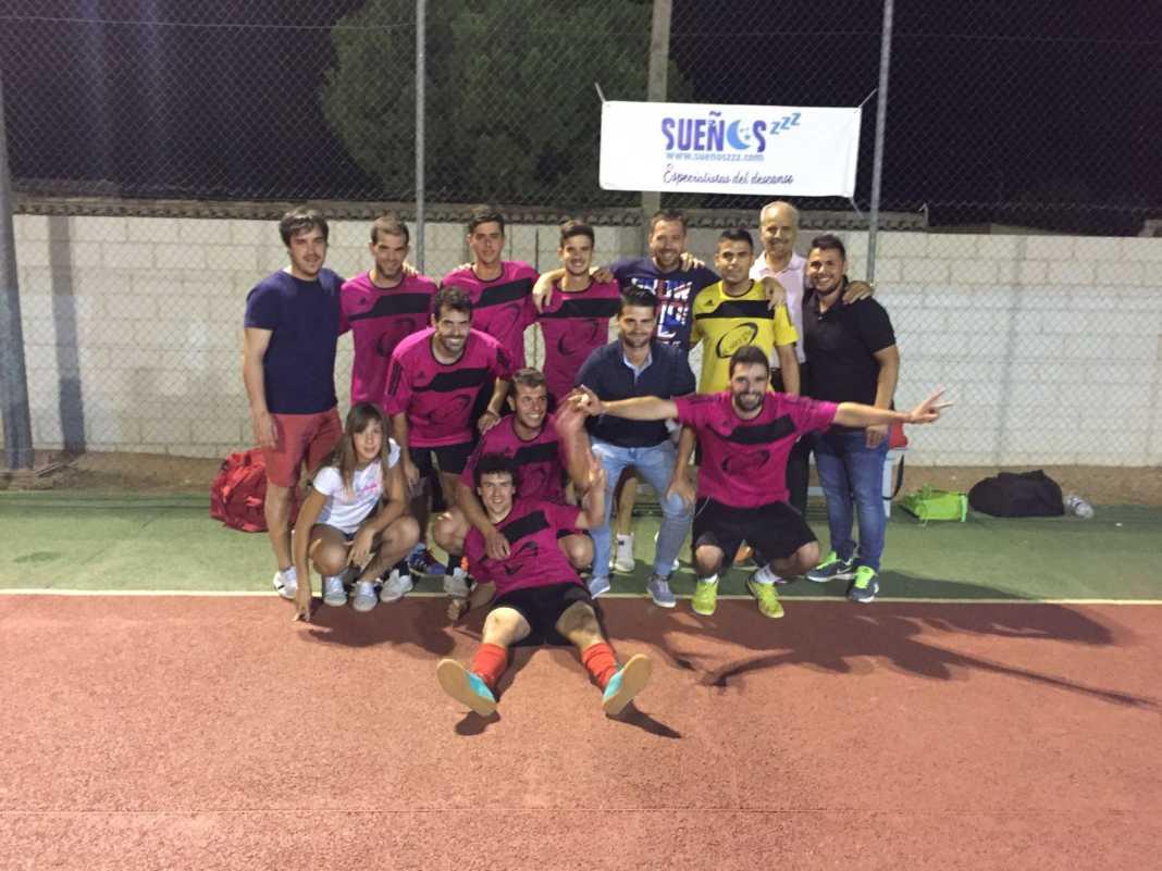 El SinFin campeon en maraton futbol sala Puerto Lapice 1068x801 - El SinFin ganó la Maratón de Fútbol Sala de Puerto Lápice 2016