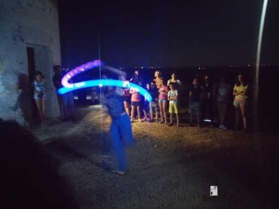 Ruta nocturna en Herencia Luna de Agosto03 560x420 - Éxito de la V ruta de senderismo Luna de noche. Galería fotográfica