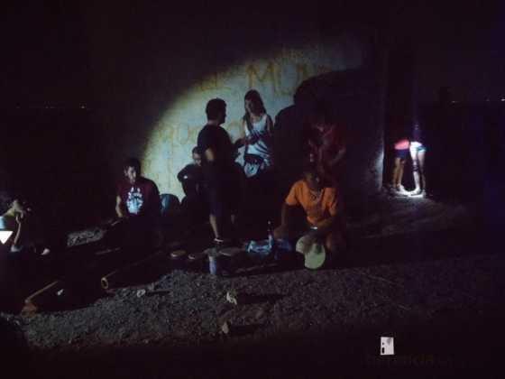 Ruta nocturna en Herencia Luna de Agosto07 560x420 - Éxito de la V ruta de senderismo Luna de noche. Galería fotográfica