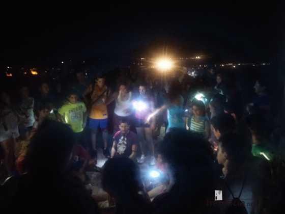 Ruta nocturna en Herencia Luna de Agosto11 560x420 - Éxito de la V ruta de senderismo Luna de noche. Galería fotográfica