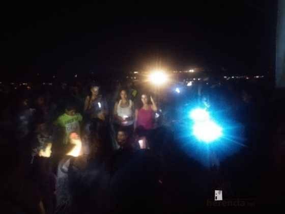 Ruta nocturna en Herencia Luna de Agosto12 560x420 - Éxito de la V ruta de senderismo Luna de noche. Galería fotográfica