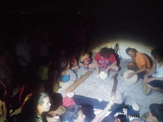 Ruta nocturna en Herencia Luna de Agosto13 560x420 - Éxito de la V ruta de senderismo Luna de noche. Galería fotográfica