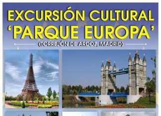 Viaje cultural organizado por la Asociación Los Traviesos de Herencia a Parque Europa en Torreón de Ardoz