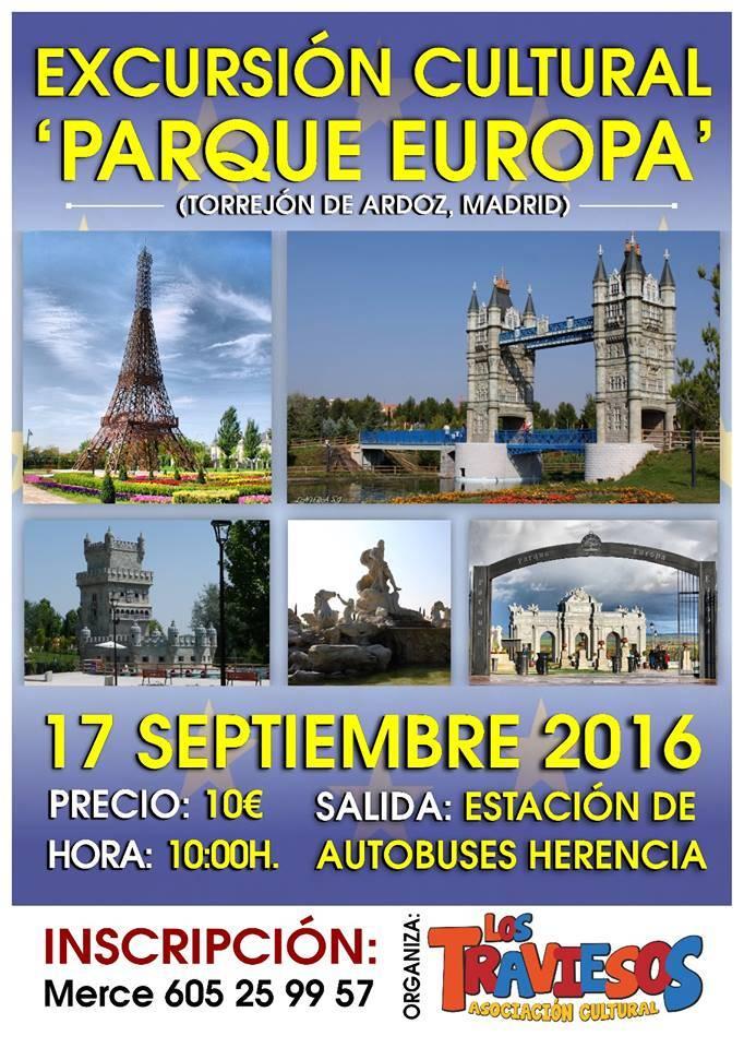 Viaje cultural de Los Traviesos a PArque Europa - Los Traviesos organizan un Viaje cultural a Parque Europa