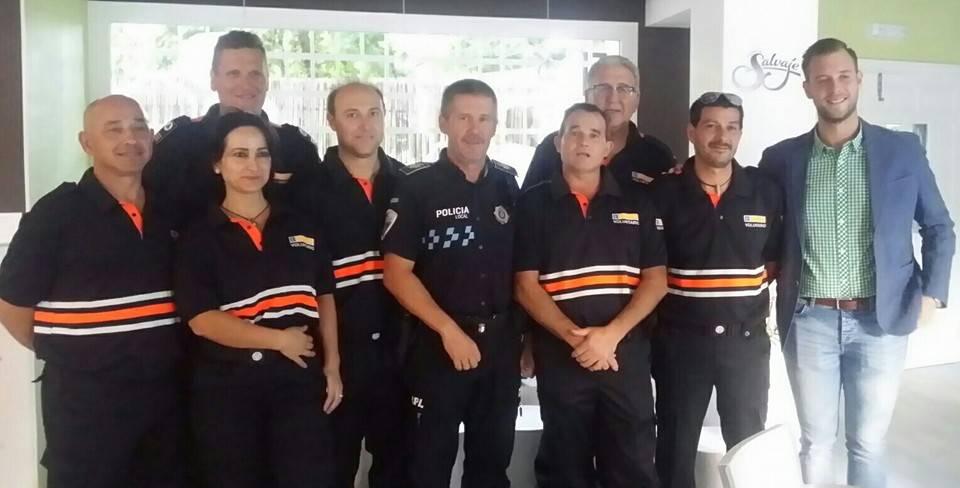 Presentación de la Agrupación de Voluntarios de Protección Civil 1