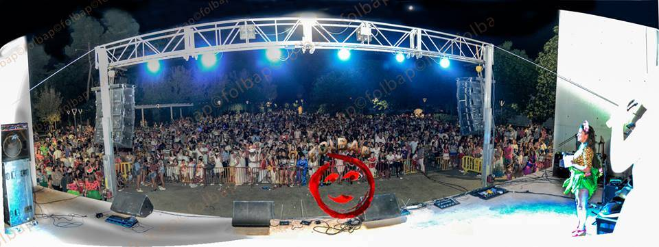 el verano en color de el carnaval de verano en herencia por folbap - El Carnaval de Herencia en el mes de mayo