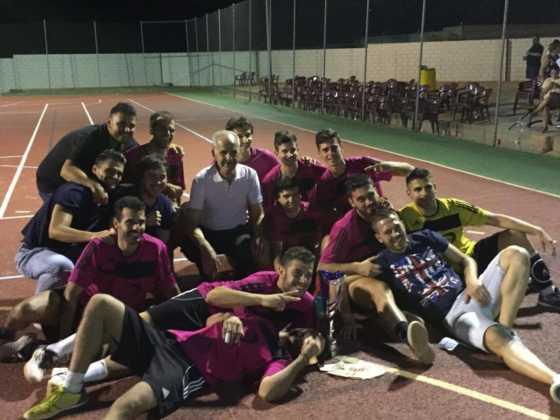 equipo sinfin de herencia en maraton futbol sala puerto lapice 2 560x420 - El SinFin ganó la Maratón de Fútbol Sala de Puerto Lápice 2016