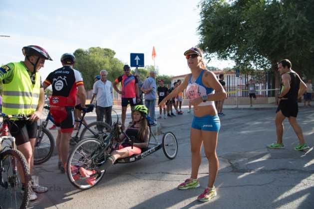 Fotografías de previos, salida patines y carrera en Carrera Popular Herencia 10