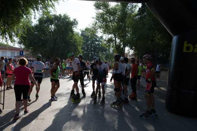 Fotografías de previos, salida patines y carrera en Carrera Popular Herencia 13
