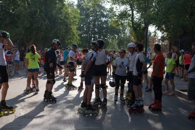 00 previos a la 40 carrera popular herencia 15 629x420 - Fotografías de previos, salida patines y carrera en Carrera Popular Herencia