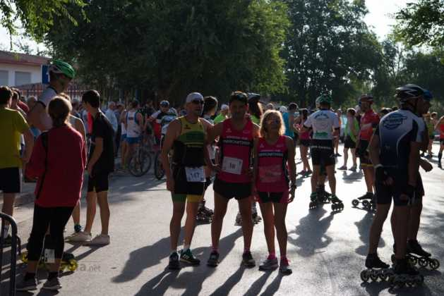 Fotografías de previos, salida patines y carrera en Carrera Popular Herencia 17