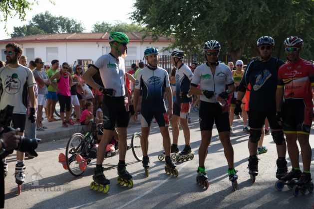 Fotografías de previos, salida patines y carrera en Carrera Popular Herencia 24