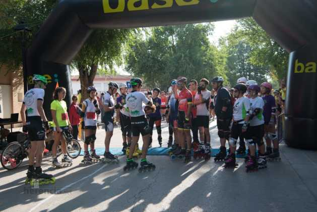 00 previos a la 40 carrera popular herencia 25 629x420 - Fotografías de previos, salida patines y carrera en Carrera Popular Herencia