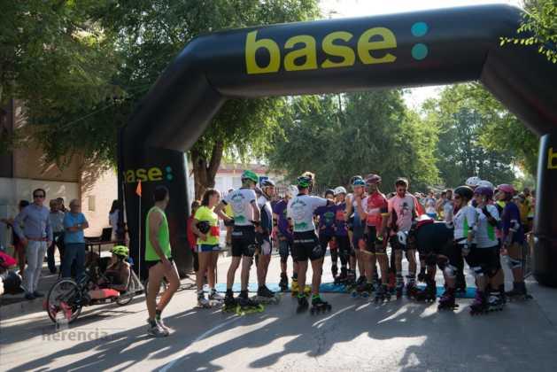Fotografías de previos, salida patines y carrera en Carrera Popular Herencia 26